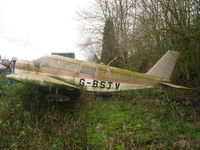 G-BSTV @ EGHP - Left to rot at Popham airfield EGHP. She was a resident for many years then left to rot in the trees but was moved down by the hangers, cleaned up and then disappeared. I'm hoping she has another owner who has her back where she belong's (in the air). - by Marc Mansbridge
