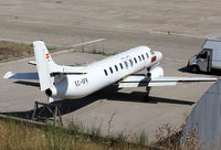 EC-GFK @ LEGE - Parked at the Airport without propellers an titles... Used for parts for others Metroliners - by Shunn311