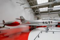 154 @ LFPB - Dassault MD-450 Ouragan, Exibited at Air & Space Museum Paris-Le Bourget (LFPB) - by Yves-Q