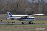 N1449Q @ KVUO - Cessna 150 getting ready to depart Pearson Field - by Eric Olsen