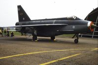 XS928 @ EGWZ - RAF Alconbury Open House 1983 - by Guy Vandersteen