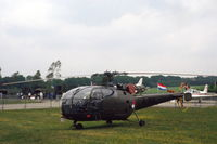 A-302 @ EHDL - Royal Netherlands Air Force Alouette III at Deelen Air Base Open Day 1983 - by Van Propeller