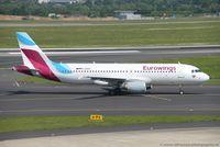 D-ABHF @ EDDL - Airbus A320-214 - EW EWG Eurowings ex Air Berlin - 2749 - D-ABHF - 23.05.2017 - DUS - by Ralf Winter