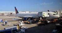 N124DE @ KATL - At the gate Atlanta - by Ronald Barker