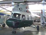 555 - Mil (PZL-Swidnik) Mi-2U HOPLITE at the Museum für Luftfahrt und Technik, Wernigerode