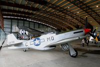 44-63871 @ LFPB - North American P-51D Mustang, Air & Space Museum Paris-Le Bourget (LFPB) - by Yves-Q