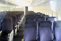 F-BPVJ @ LFPB - Passengers cabin of Boeing 747-128, Air & Space Museum Paris-Le Bourget (LFPB) - by Yves-Q
