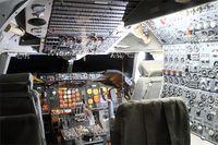 F-BPVJ @ LFPB - Cockpit of Boeing 747-128, Air & Space Museum Paris-Le Bourget (LFPB) - by Yves-Q