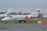 SP-TAT @ EBAW - Parked at Antwerp Airport.