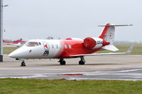 D-CFAZ @ EGSH - Re-use of reg on a new Learjet 60. - by Graham Reeve