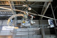 F-WGVD @ LFPB - Sud Aviation SO-1220 Djinn, Air & Space Museum Paris-Le Bourget (LFPB) - by Yves-Q