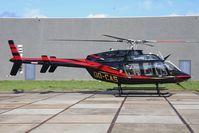 OO-CAS @ EBKT - Bell 407 GXP.