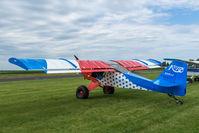 N318JJ @ 8D1 - Skystar Kitfox Series 5 N318JJ at New Holstein, WI. - by Graham Dash