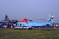 PH-NZO @ EHDL - KLM Helikopters Sikorsky S-76A at Deelen Air Base Open Day 1983 - by Van Propeller