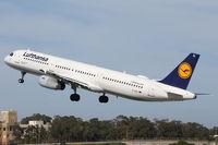 D-AIDL @ LMML - A321 D-AIDL Lufthansa - by Raymond Zammit