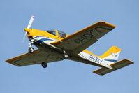 9H-SKY @ LMML - Tecnam P2002 Sierra 9H-SKY Sky People Aviation Training School - by Raymond Zammit
