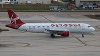 N629VA @ FLL - Virgin America