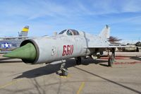 6611 @ KBOI - On display at the Gowen Military Museum. - by Gerald Howard