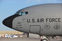 63-8887 @ KBOI - Parked on the south GA ramp.  6th AMW / 927th ARW, MacDill AFB. - by Gerald Howard