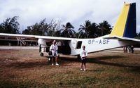 8P-ASF - Taken in March 1991 on Union Island - by david simmonds