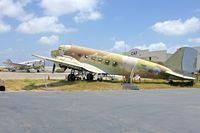 N215CM @ CMA - C-46 and C-47 outside CAF ramp at Camarillo Airport CA