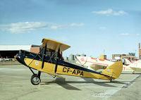 CF-APA - Gipsy Moth on the Tarmac - by Photovault.com