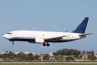 TS-ICB @ LMML - B737-300 TS-ICB Express Air cargo