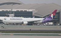N592HA @ KLAX - Boeing 767-300