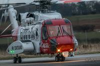 G-MCGG @ EGNJ - Operating as Coastguard 912  (G-MCGG not usually based at HUY) - by Gareth Alan Watcham