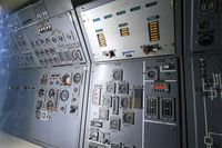 F-WTSS @ LFPB - Control panel for flight parameters and engines of Aerospatiale-BAC Concorde Prototype, Air & Space Museum Paris-Le Bourget Airport (LFPB-LBG) - by Yves-Q