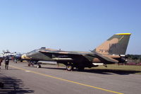 68-0049 @ EBBL - USAF 49TFS General Dynamics F-111E at Kleine Brogel Air Base, Belgium, 1991 - by Van Propeller