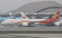 B-LGB @ KLAX - Airbus A350-941