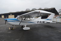 G-BJWI @ EGTF - Reims Cessna F172P Skyhawk at Fairoaks. - by moxy