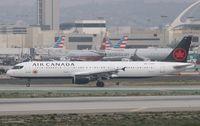 C-FGKP @ KLAX - Airbus A321-211 - by Mark Pasqualino