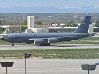 58-0092 @ KBOI - Landing roll out on RWY 10L. - by Gerald Howard