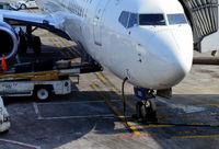N805DN @ KSLC - Nose of aircraft SLC