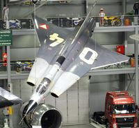 04 - SAAB J35Oe Mk II Draken at the Technik-Museum, Speyer
