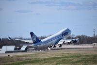 N450PA @ CVG - Polar Air Cargo 747-400F with serious wingflex - by Christian Maurer