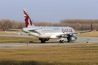 A7-AHU @ LHBP - Budapest Ferihegy International Airport, Hungary - by Attila Groszvald-Groszi