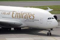 A6-EDF @ VIE - Emirates Airbus A380 - by Thomas Ramgraber