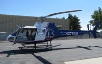 N279AM @ KBOI - Parked on the Life Flight ramp. - by Gerald Howard