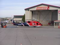 N135BH @ KBOI - Being towed from the Firehawk hangar. - by Gerald Howard