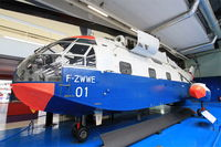 F-ZWWE @ LFPB - SNCASE SE 3210 Super Frelon, Air and Space Museum, Paris-Le Bourget (LFPB-LBG) - by Yves-Q