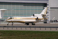 LX-AMB @ VIE - Global Jet Luxembourg Dassault Falcon 7X - by Thomas Ramgraber