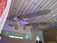 G-EBOV - as you enter the museum this is hanging from the roof - Brisbane CBD - by magnaman