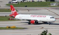 N640VA @ FLL - Virgin America