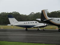 VH-PTA - from between hangars - at Caloundra - by magnaman