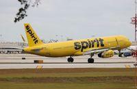 N657NK @ FLL - Spirit