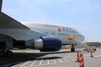 N661US @ ATL - Delta 747-400 at Delta Museum Atlanta