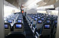 N665US @ MCO - Delta 747 interior